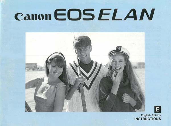 Canon EOS Elan Instruction Manual