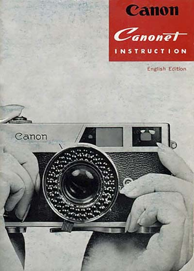 Canon Canonet User Manual