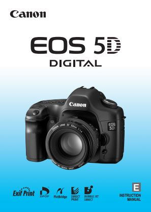 Instruction Manual for Canon 5D