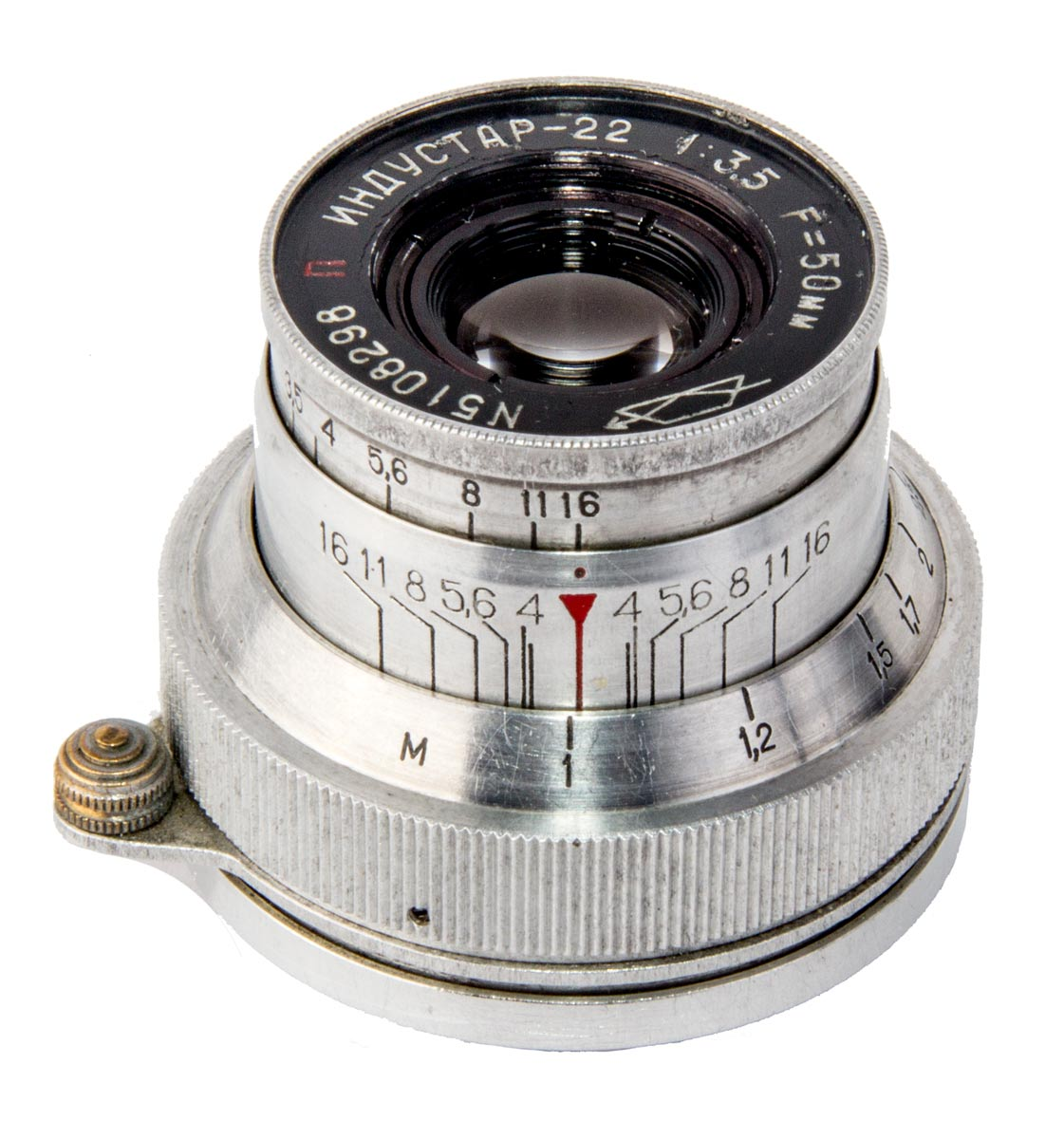 Industar 22 Fixed Lens