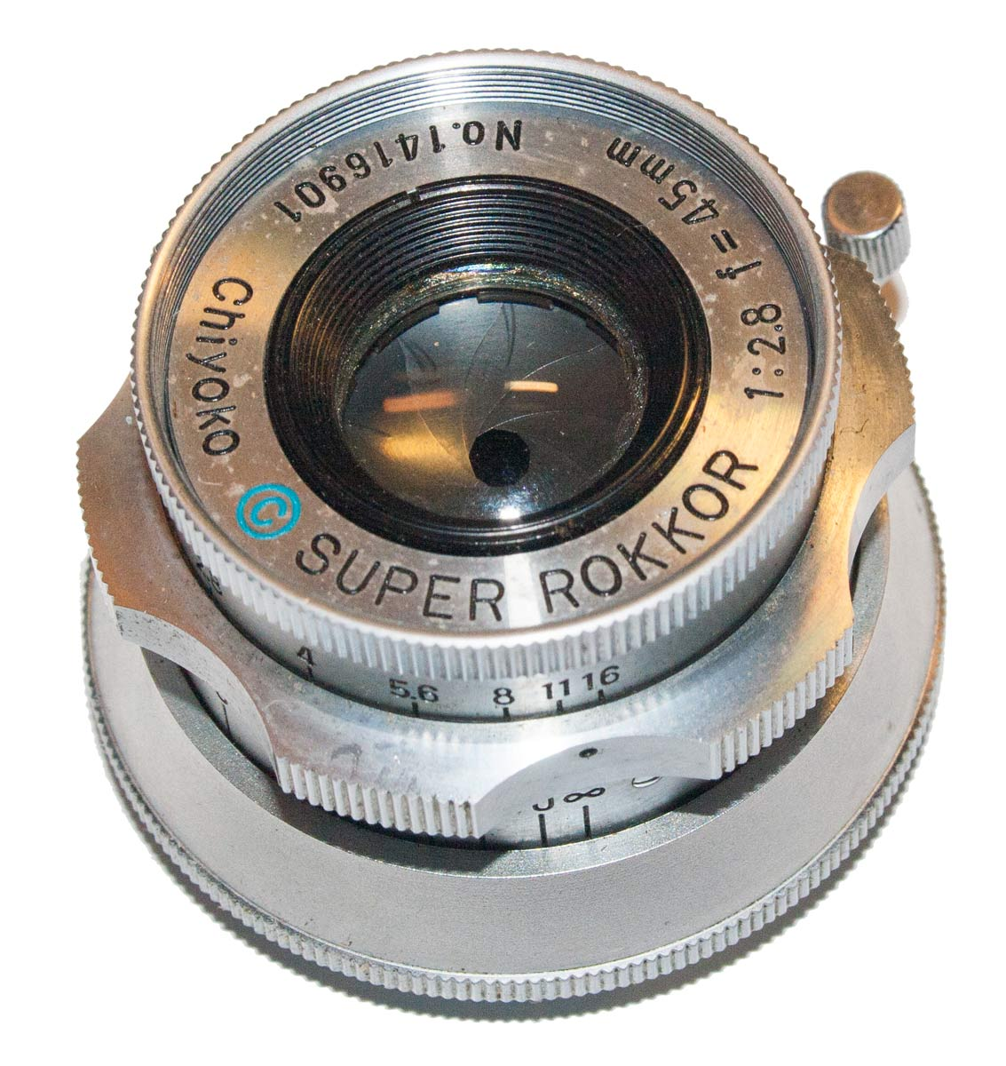 Super Rokkor 45mm f/2.8