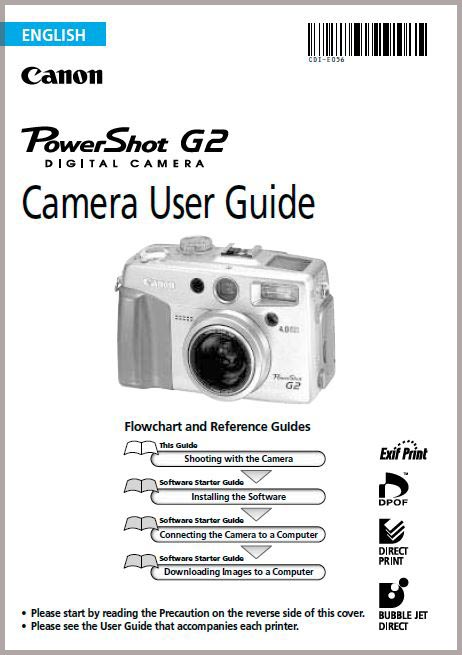 Instruction Manual for Canon G2