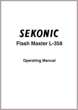 Sekonic L-358 Manual