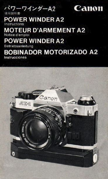 Instruction Manual for Power Winder A2