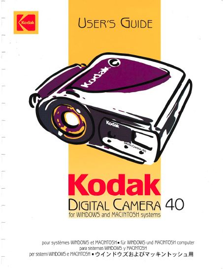 Manual for Canon 110 ED Camera
