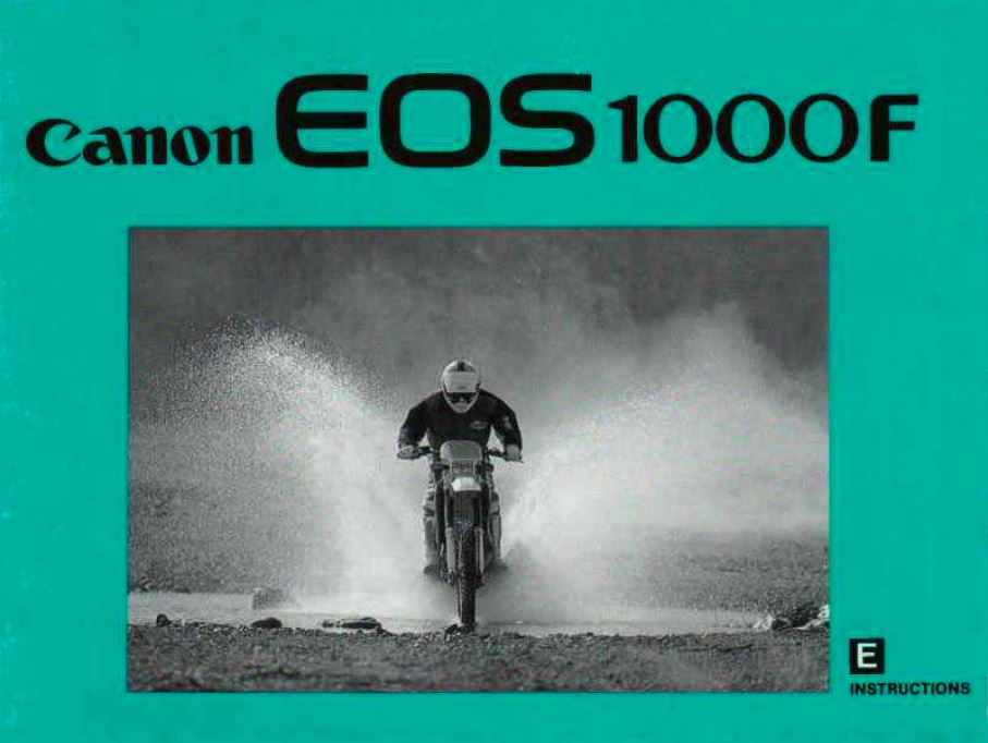 Canon EOS 1000F User Manual
