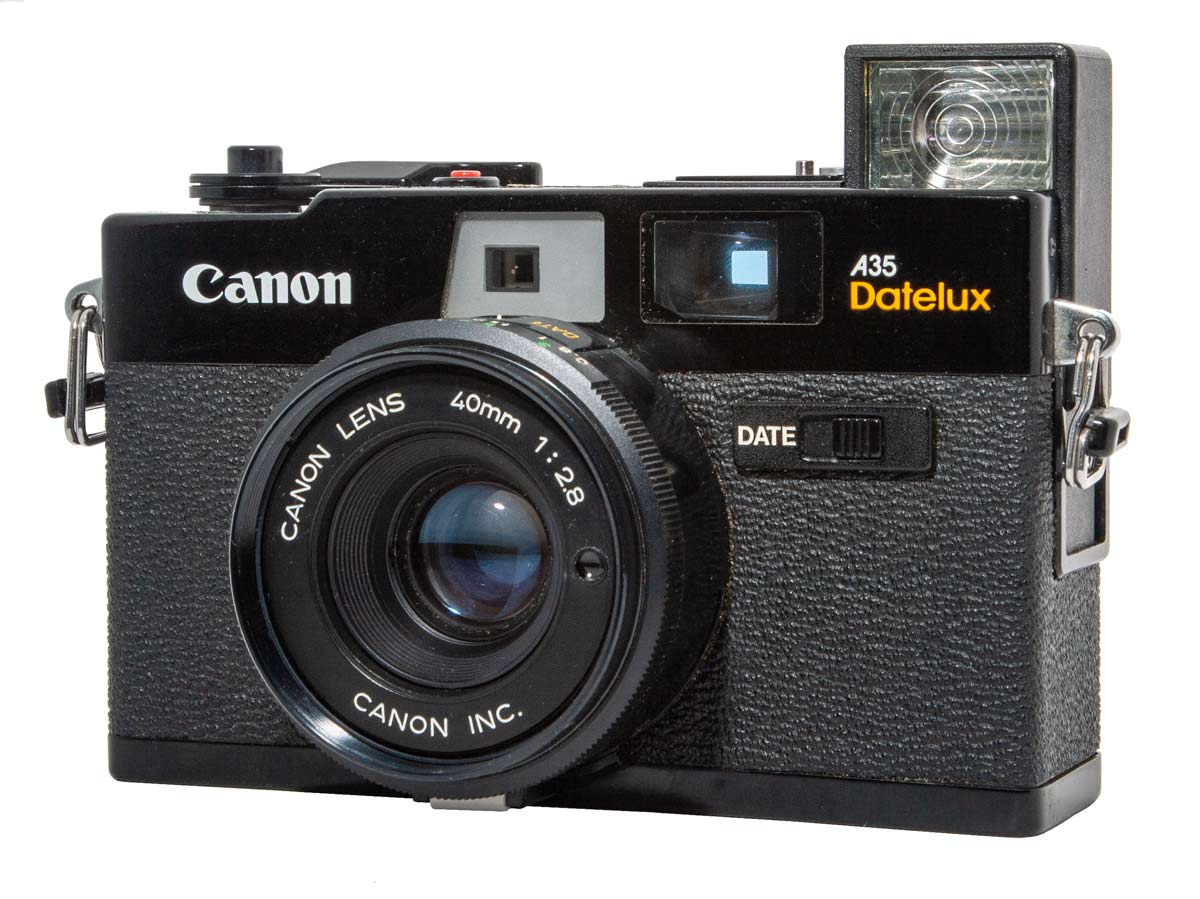Canon A35 Datelux Camera