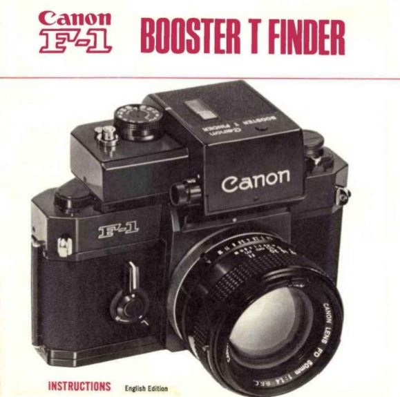 Manual for F-1 Booster T Finder