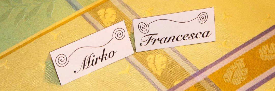 Francesca & Mirko at Christina's