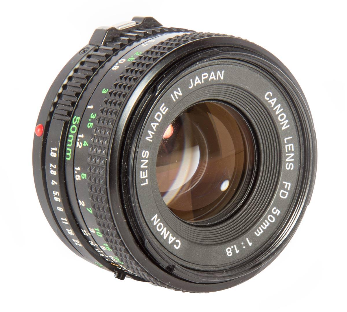 Canon FDn 50mm