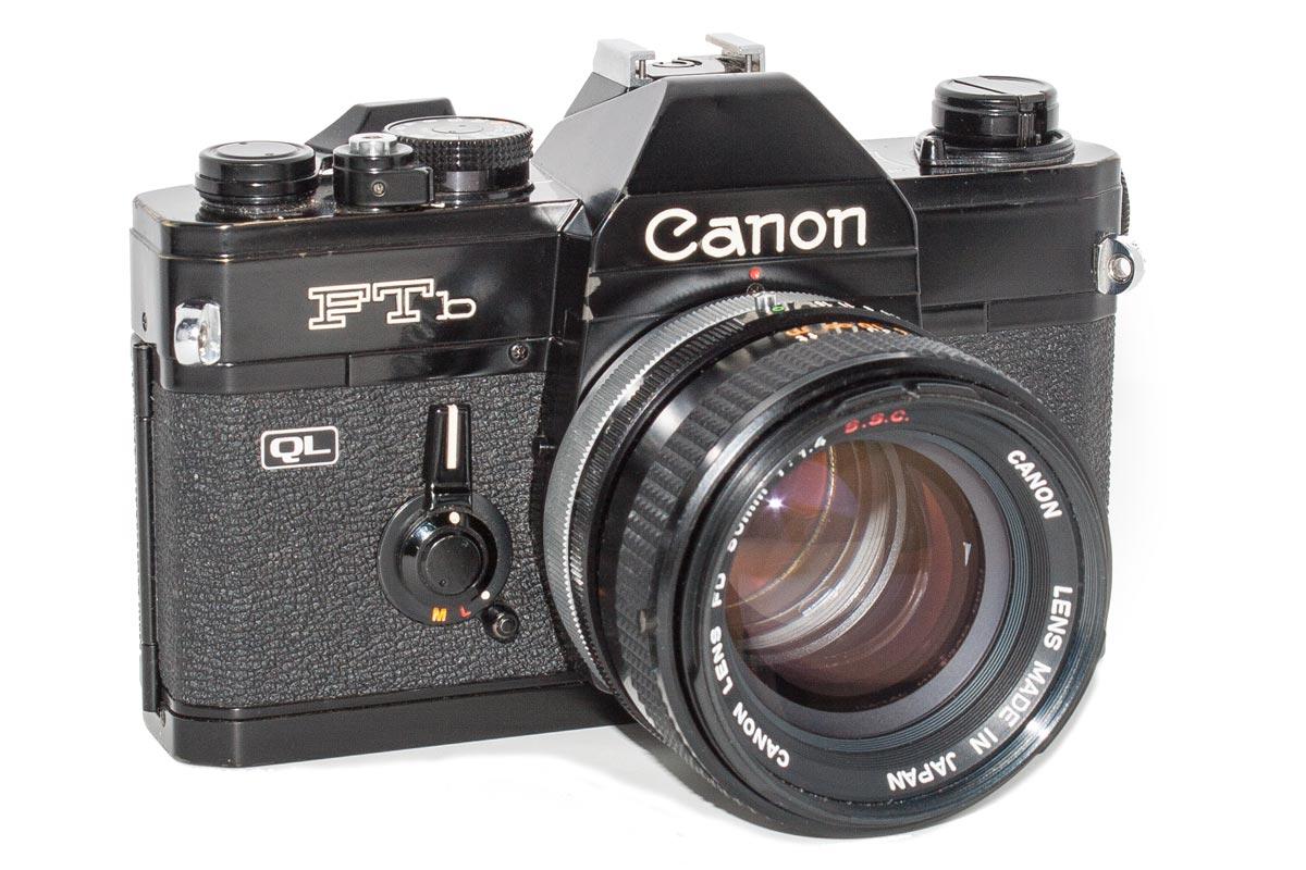 Canon FTb-n (Black)