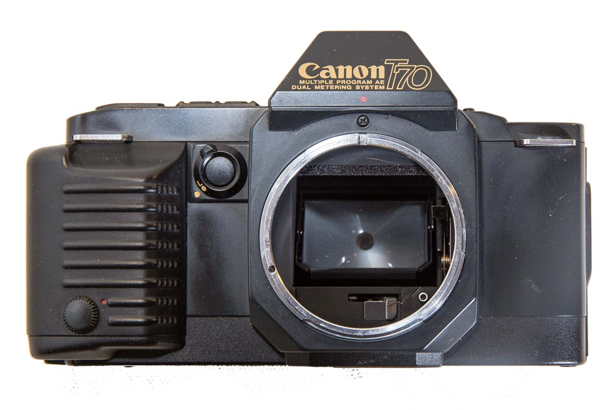 Canon T70 Front View