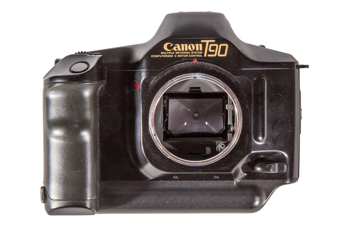 Canon T90 Front View