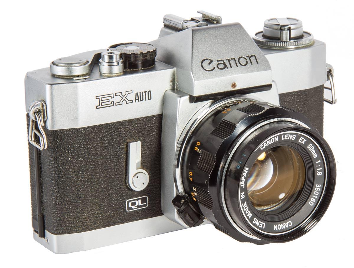 Canon EX Auto Camera