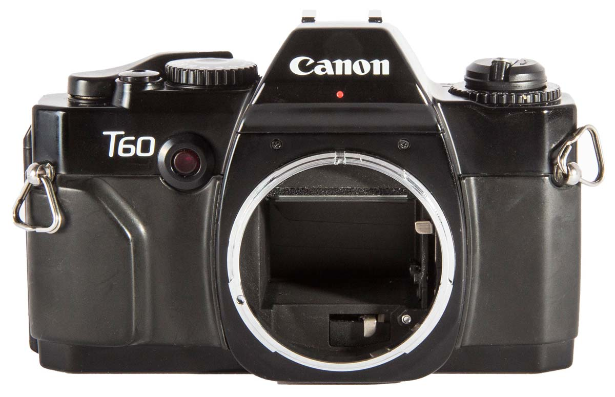 Canon T50 Front View