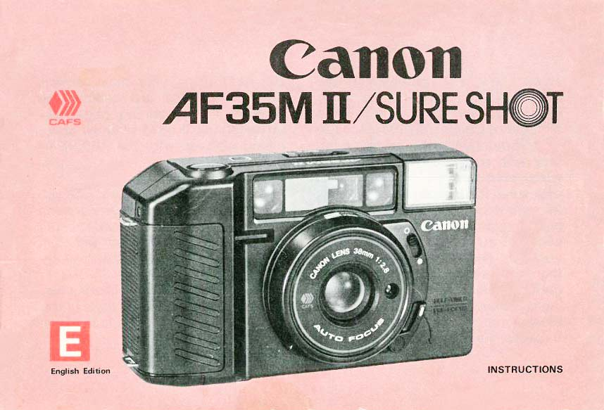 Canon New Sure Shot Camera