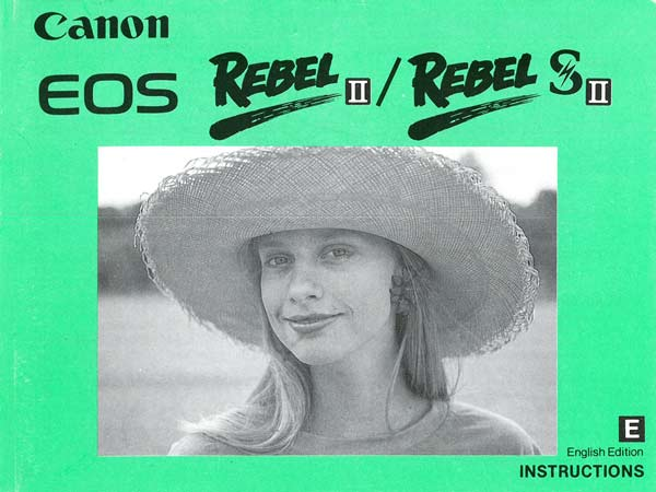 Canon Rebel II Manual