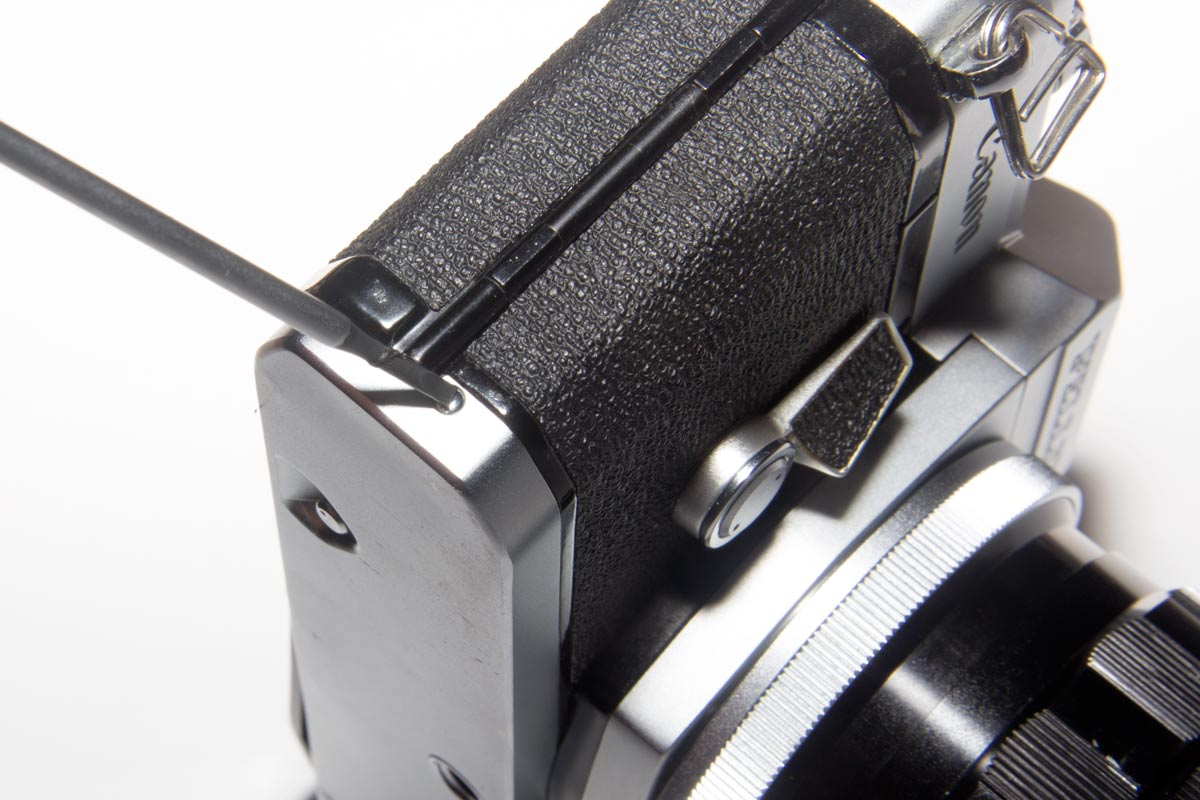 Removing the Bottom of a Canon Pellix