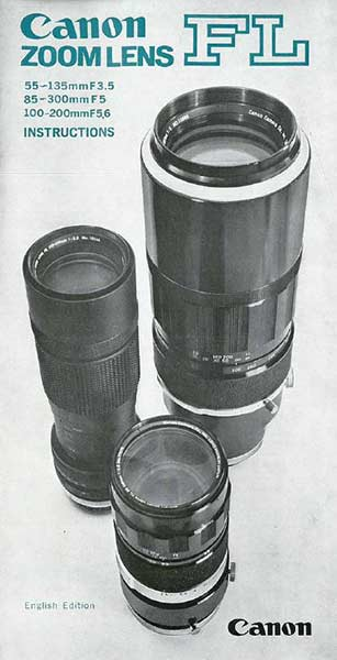 Canon FL Zoom Lens Brochure