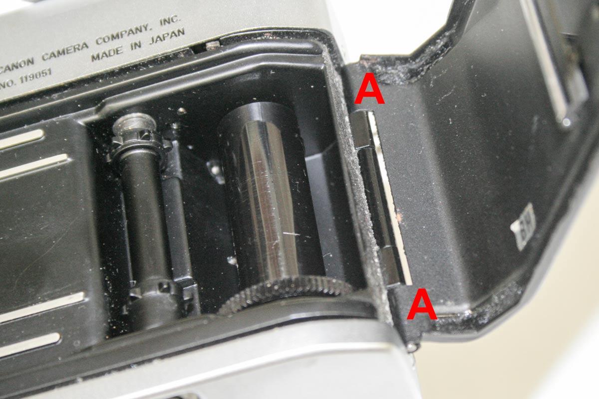 Canon Pellix Light Leak
