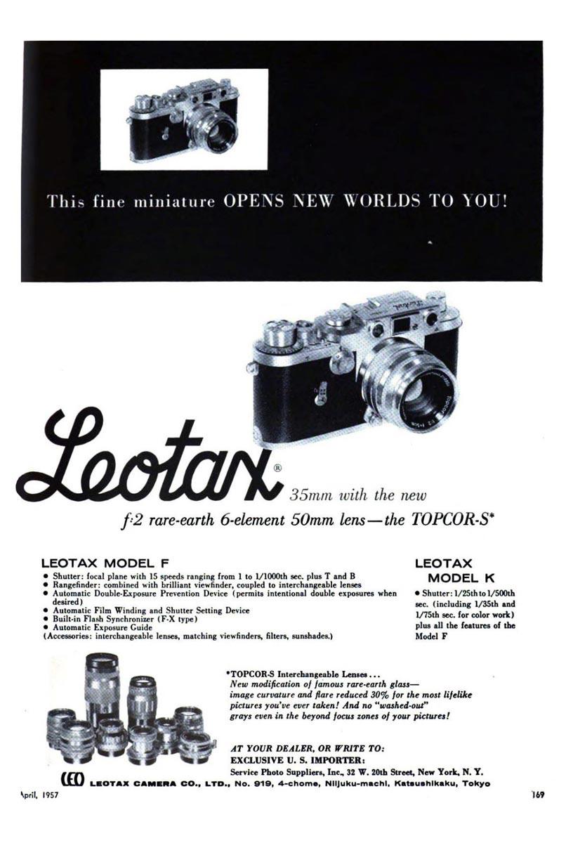 Leotax F Camera