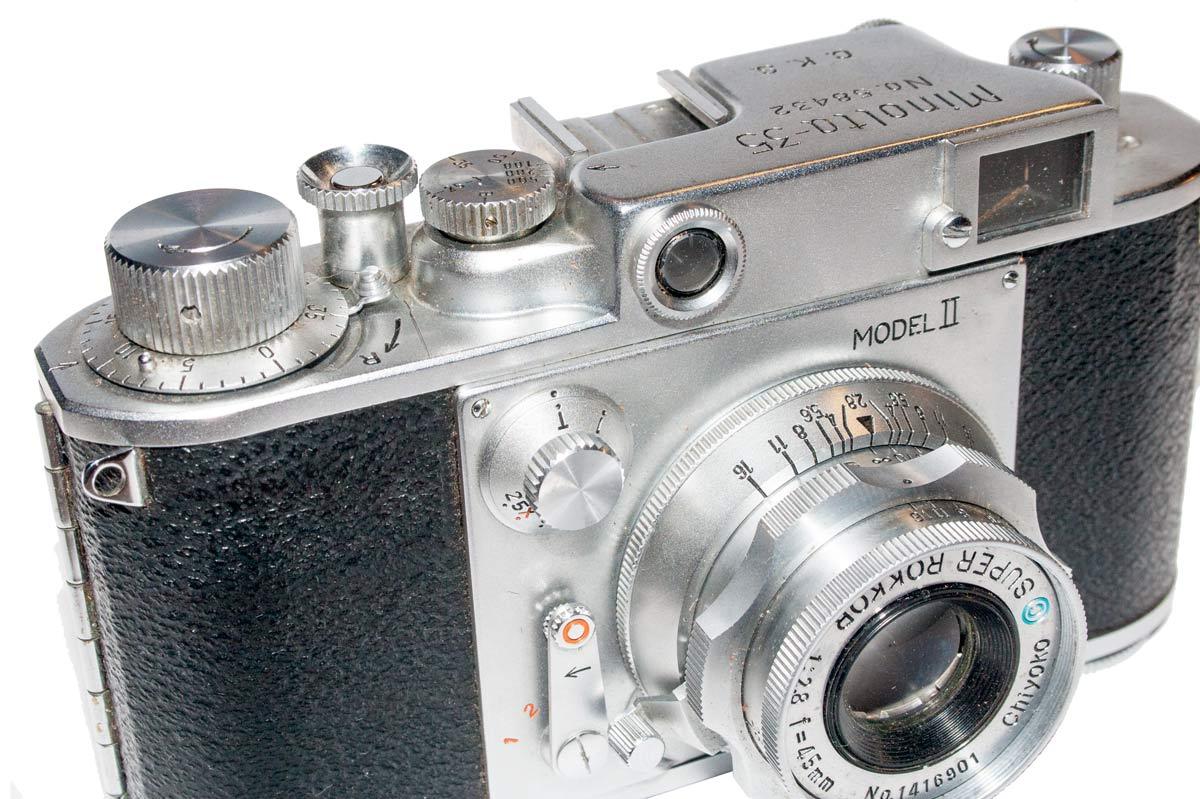 Minolta 35 Model II Camera
