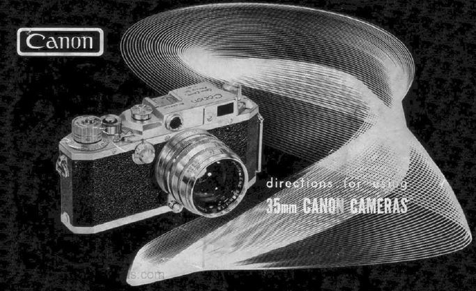 Canon 35mm Camera User Manual