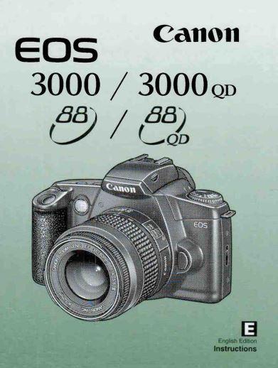 Canon EOS 3000 Manual