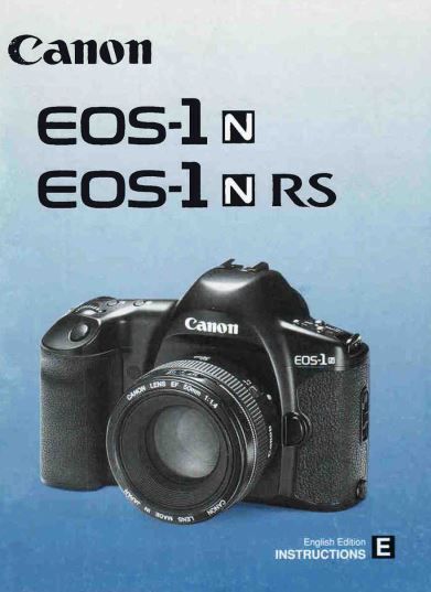 Instruction Manual for Canon EOS 5 Camera