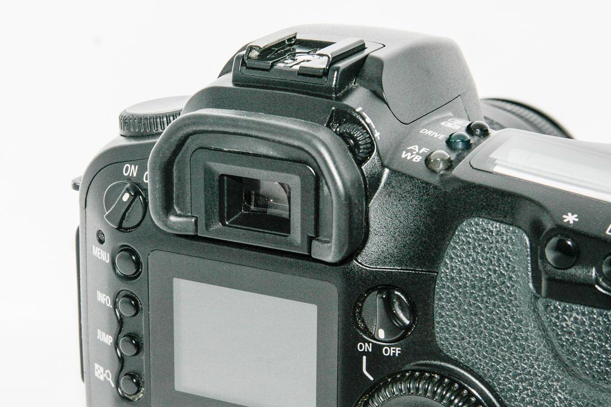 Eyecup on Canon D60