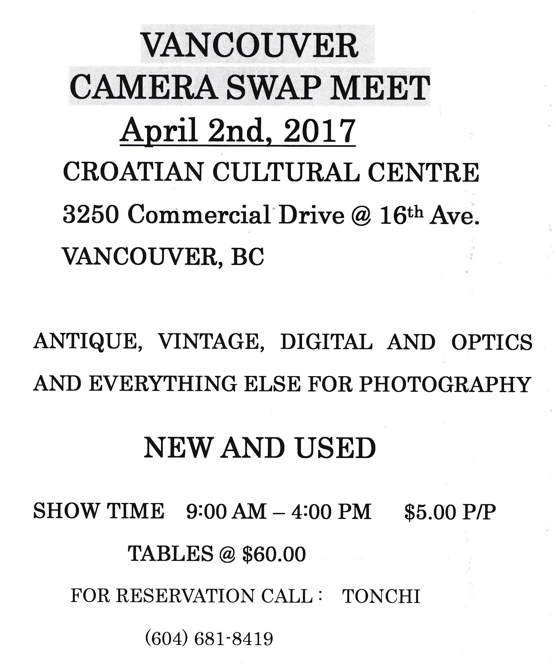 Camera Show Poster