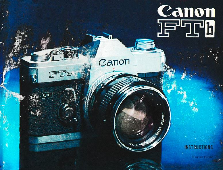 Manual for Canon FTb Camera
