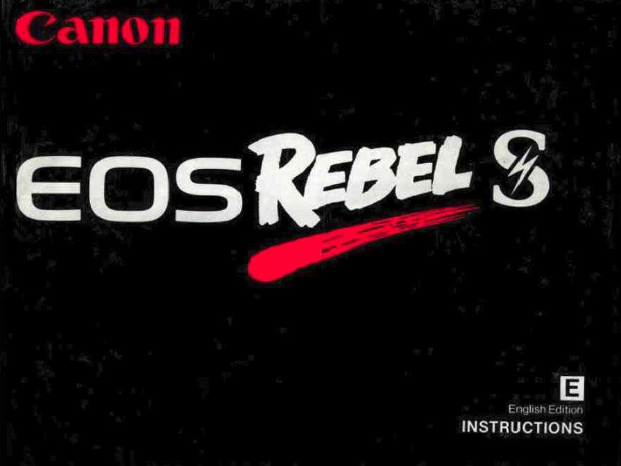Canon EOS Rebel S QD