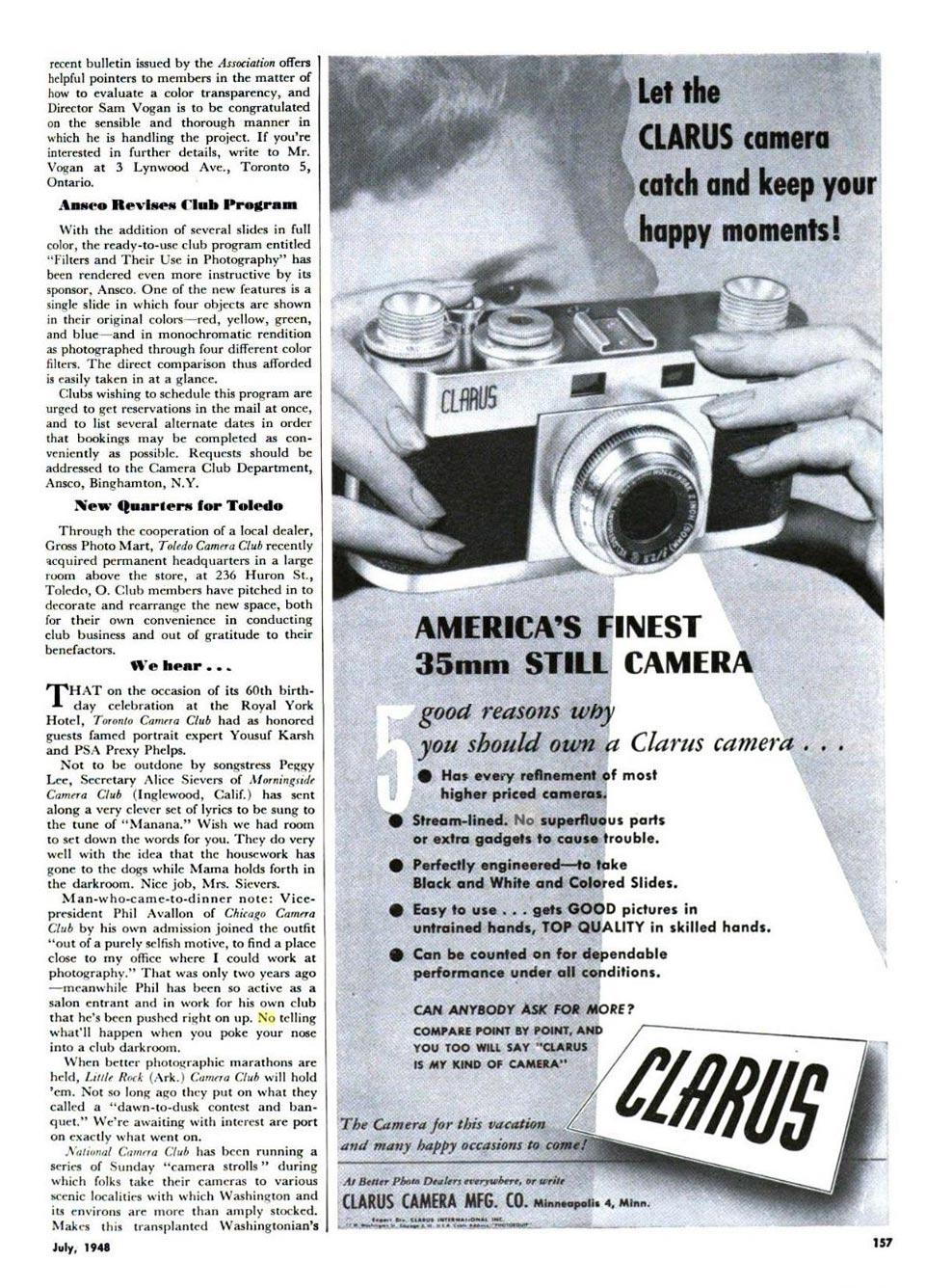 Clarus Model MS-35