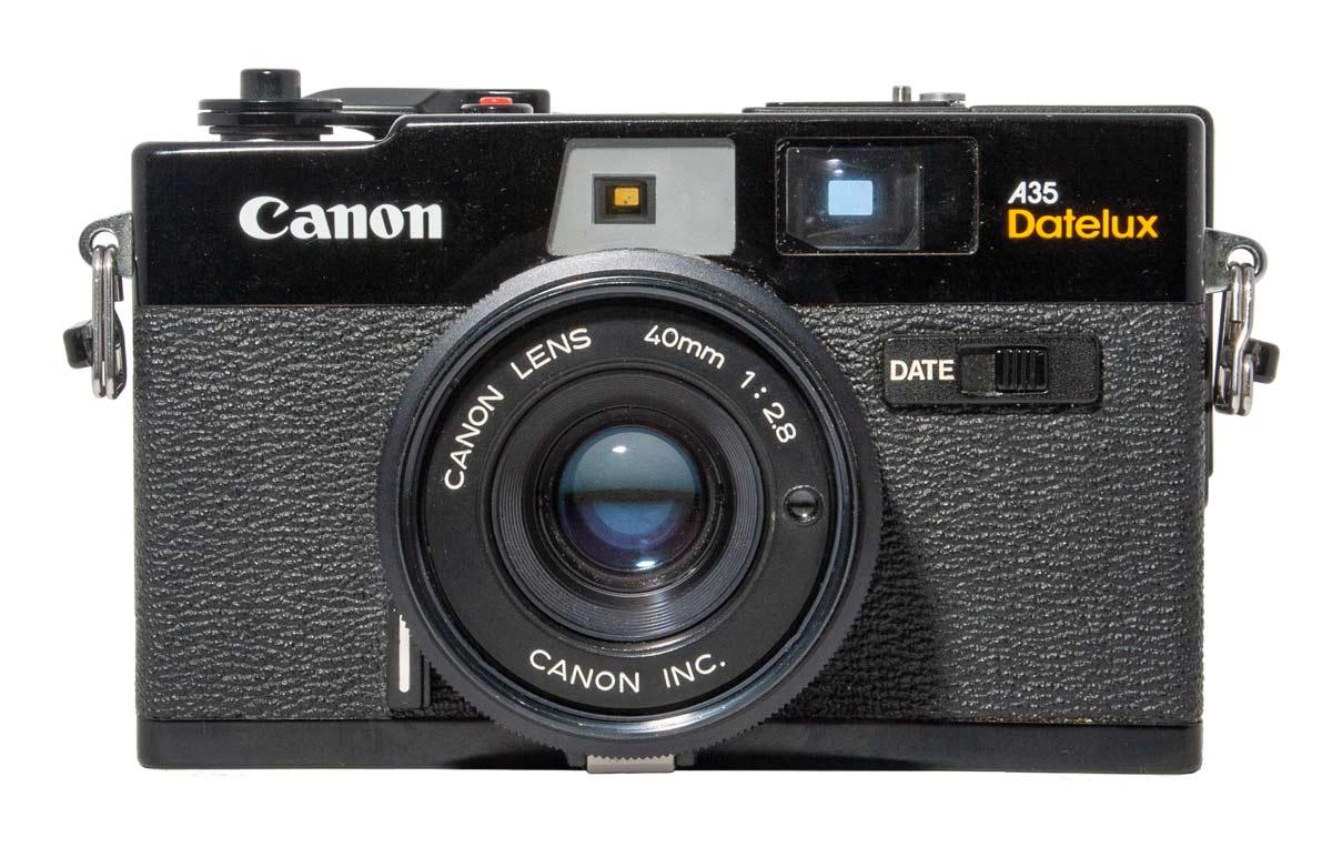 Canon A35 Datelux Camera