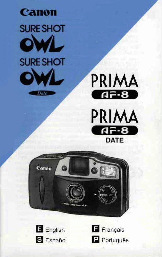 Sure Shot Owl / Prima AF-8