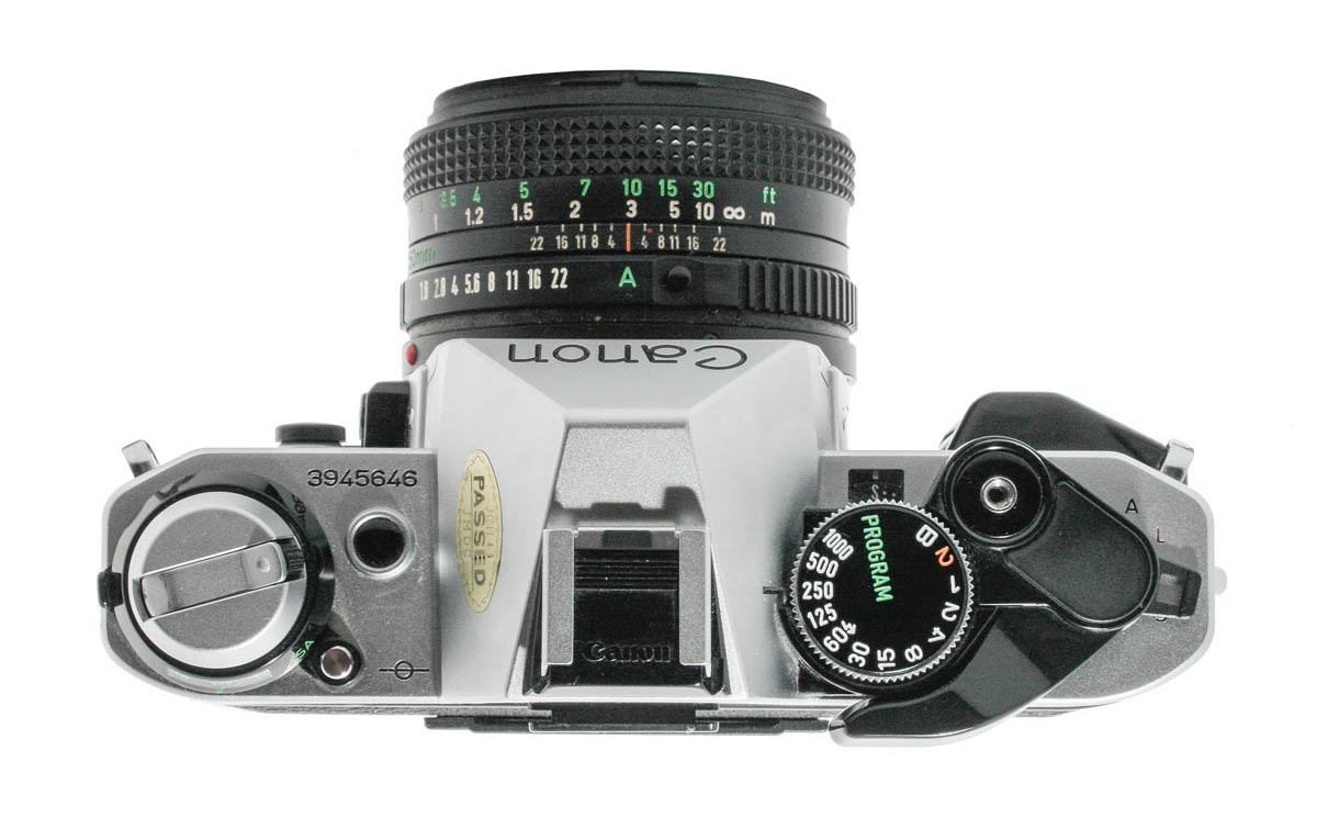 Canon AE-1 Program (Silver)