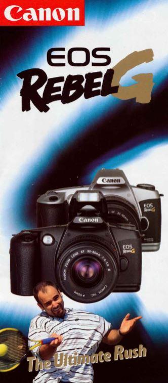 Canon Rebel G Sales Brochure