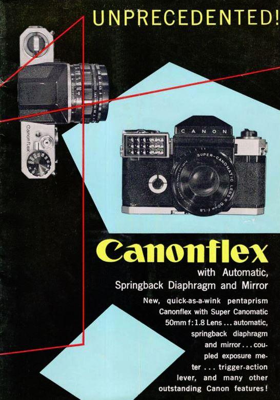 Canon Canonflex Brochure