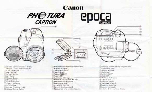 Manual for Canon Photura