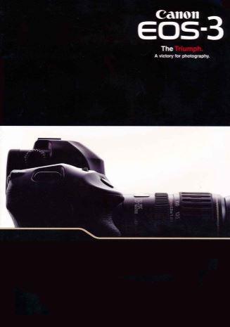 Canon EOS3 Brochure