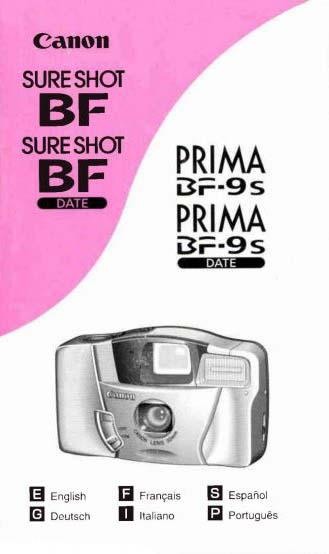 Sure Shot BF Manual