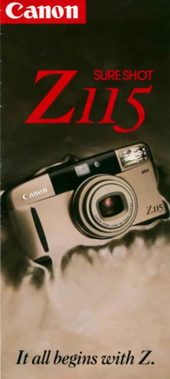 Canon Elph Brochure