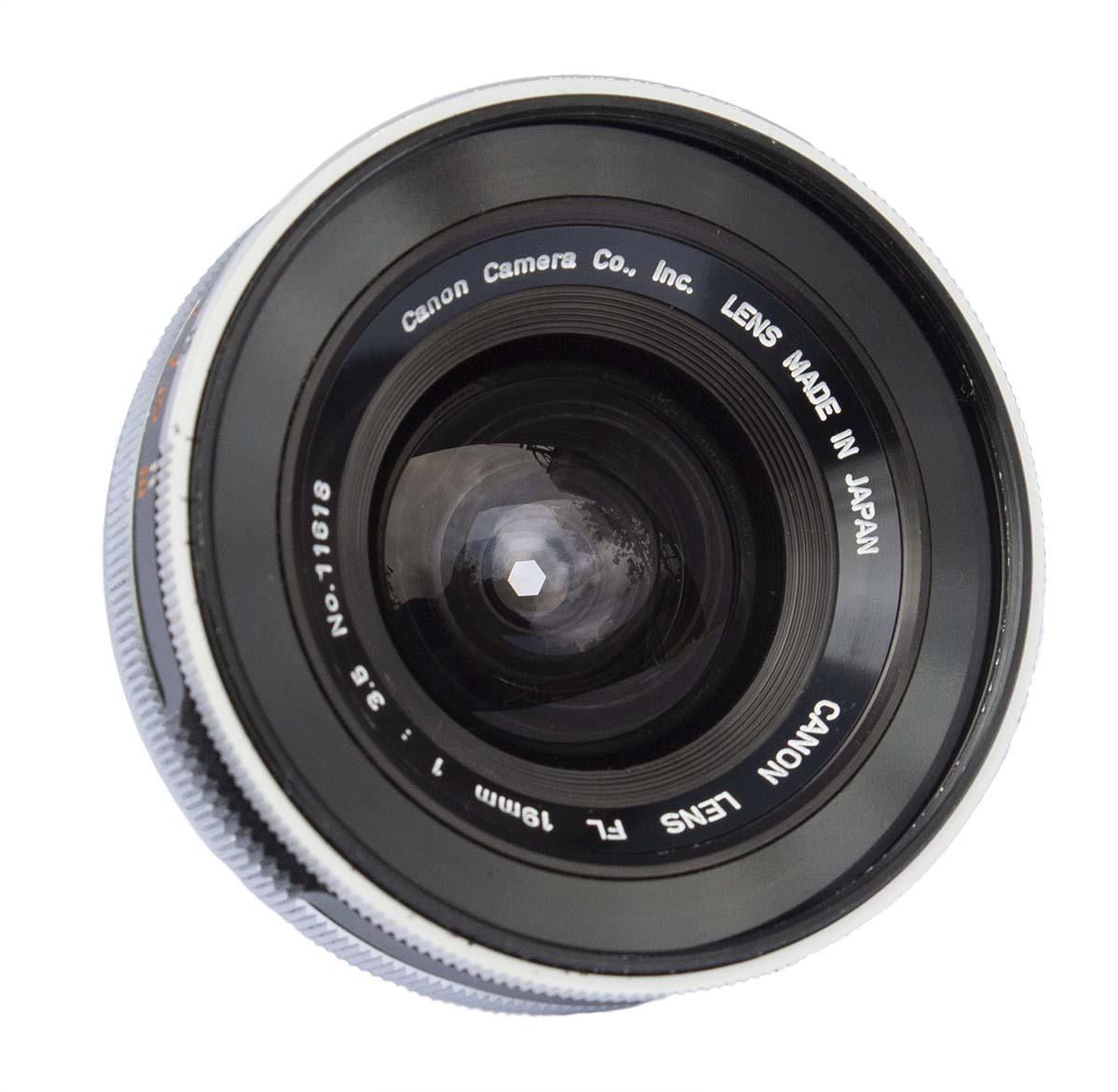 Canon FL 19mm f/3.5