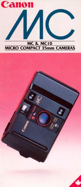 Canon MC and MC10 Brochure
