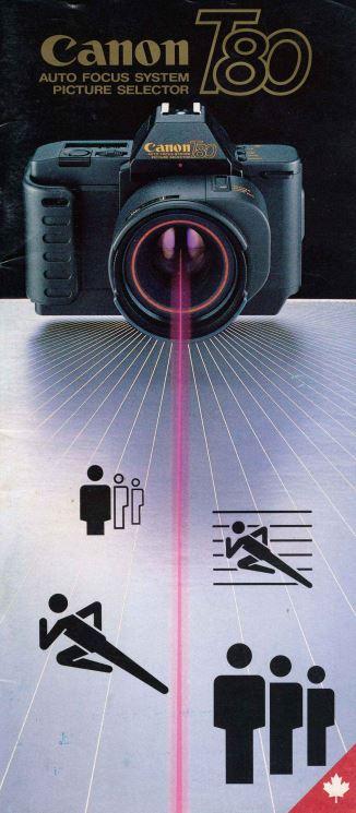 Canon T-80 Brochure