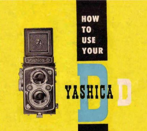 Yashica D User Manual