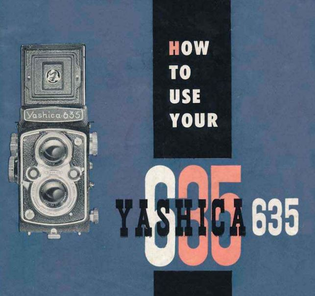 Yashica 635 User Manual