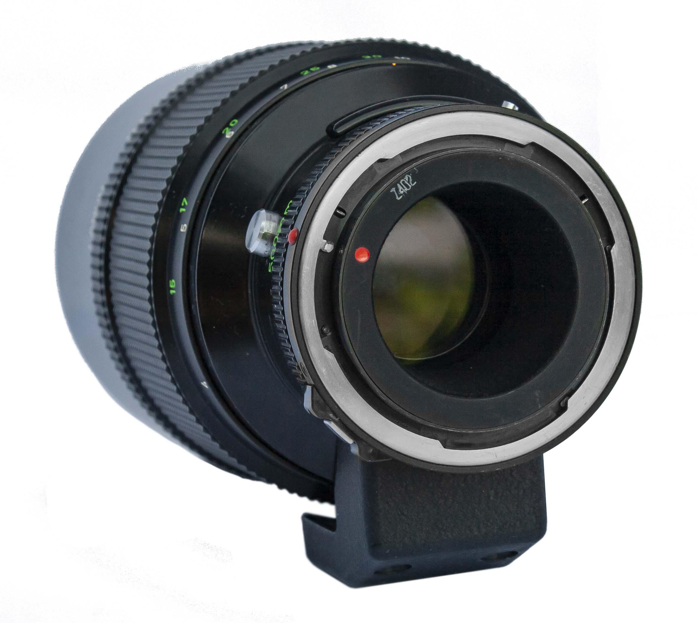 Canon FD 500mm Reflex Lens