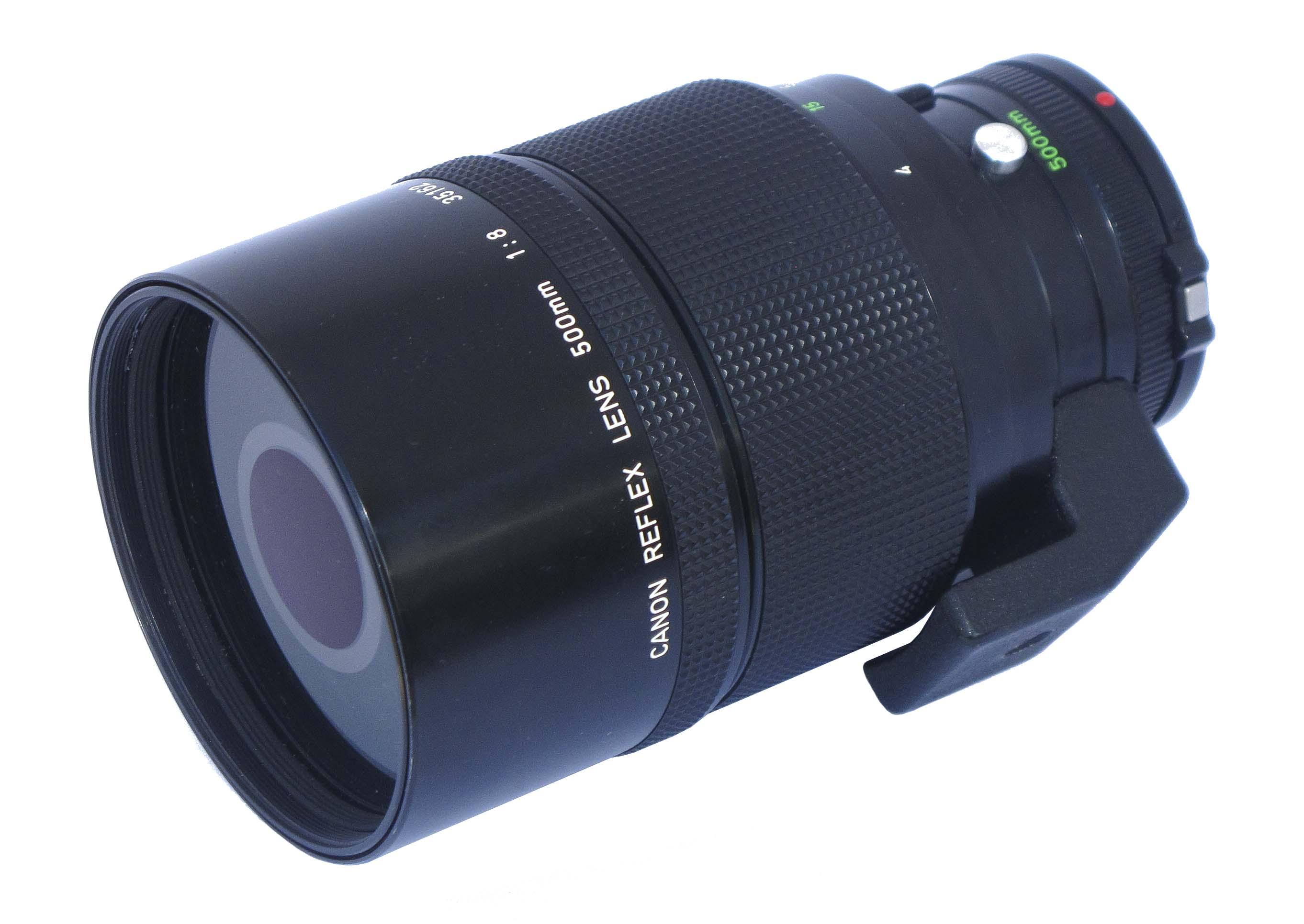 Canon FDn 500mm f/8.0 Reflex Lens